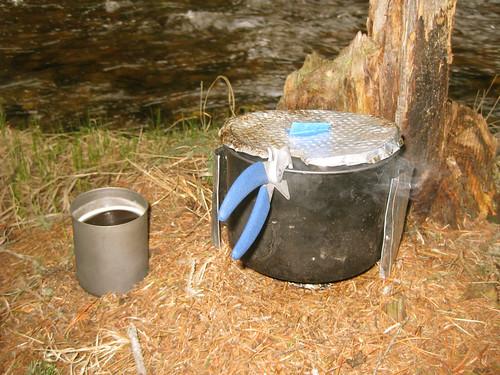 White Box Stove, Trapper Mug
