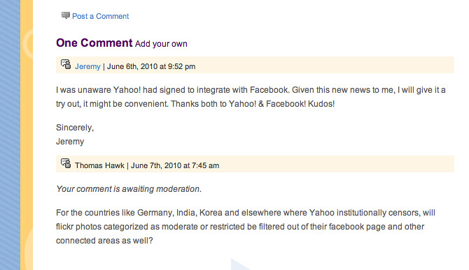 Yahoo, How Does Censorship Make Yahoo and Web More Open and Social?