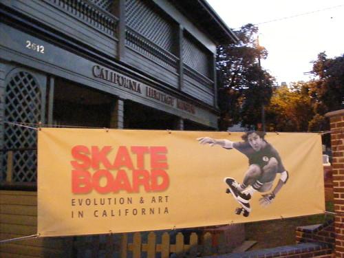 'Skate Board,' California Heritage Museum