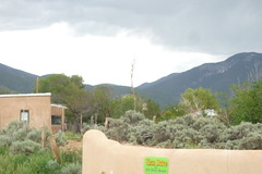 it's for rent. (gr00vy) Tags: mountains newmexico adobe taos rent arroyoseco