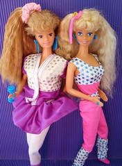 All Stars Barbie & Midge 1989 (Chicomαttel) Tags: stars all barbie 1989 mattel inc midge