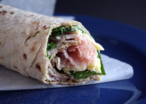 Gluten Free Scallywag_Wrap Ham N Greens_bite