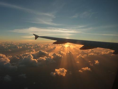 Sunrise @ 35,000ft #1