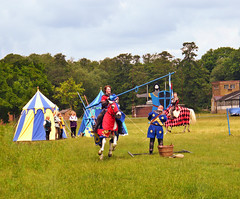RGM Knight Lance Ring Catch (MsTanyaUK) Tags: horse knight joust walthamabbey royalgunpowdermills