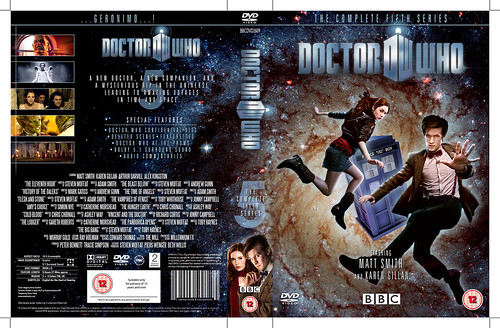 Doctor Who The Complete Fifth Series DVD cover in progress–the Holub ...