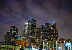 Week 23 (billy_m) Tags: california ca city sky beautiful night clouds lights this la office losangeles nikon skies view purple picture cities where week 23 took address 90012 d80 i 251smainst