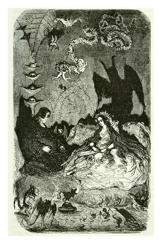 015-El sucubo-Les contes drolatiques…1881- Honoré de Balzac-Ilustraciones Doré