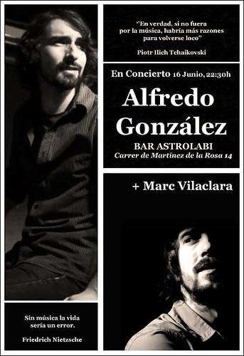 Alfrego González y Marc Vilaclara