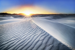 104 (joe defao) Tags: white hot newmexico dry ripples sands sunstar whitesandsnationalmonument 104degrees 3stopreversegnd
