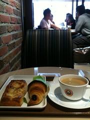 サンマルクカフェで朝食