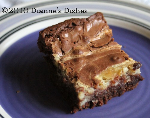 Cream Cheese Swirled Brownies