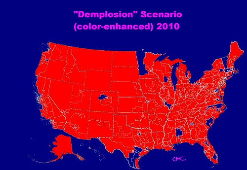 Demplosion Scenario color-enhanced