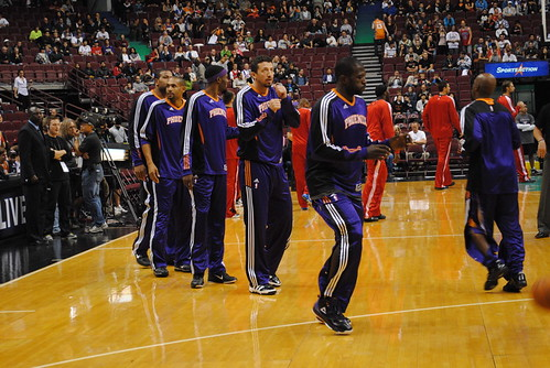 Hill, Warrick, Turkoglu, Richardson