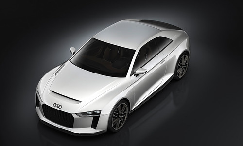 Audi quattro concept roof