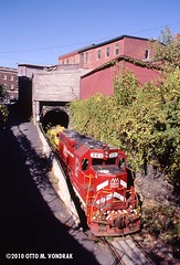 VTR 301 at Bellows Falls, VT (ovondrak) Tags: vermont vtr emd greenmountainrailway vermontrailway gmrc