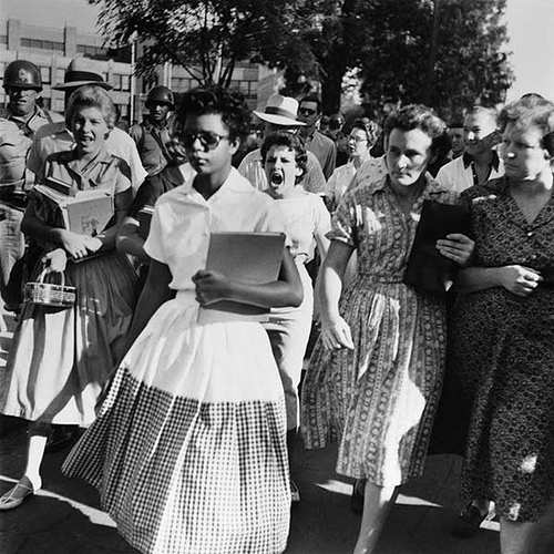 Little Rock Nine - Elizabeth Eckford