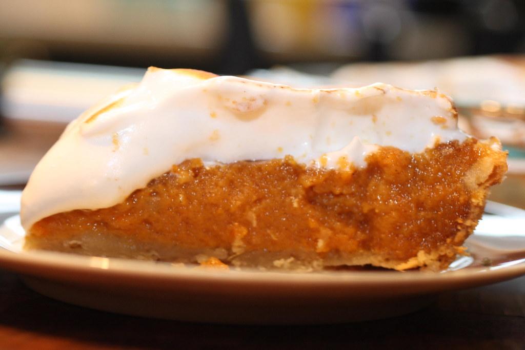 Sweet Potato Pie with Toasted Marshmallow Meringue |