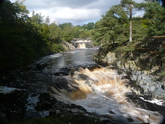 Teesdale Low Force III (Dr Nigel) Tags: england water river lumix waterfall panasonic northeast circularpolariser teesdale rivertees nd8 nd4 dmcfz8 teesdalelowforce