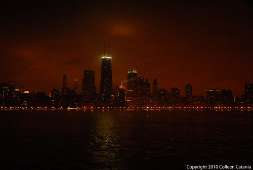 Chicago Skyline at Night 2010