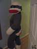 Sock Monkey Standing