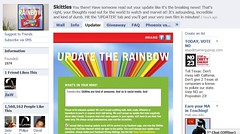 Skittles UK Facebook page