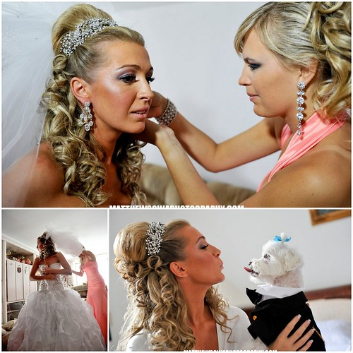 Bridal Styles real bride, Lana & Ilia, image by Matthew Sowa Photography