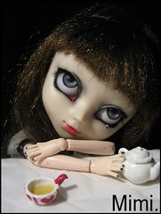 Don't want more tea ! | Pullip FC (.: Marinette in Wonderland :.) Tags: red white black cold doll tea ooak inside pullip luts custo littlemonster alte leiko obitsusbhm fullcustom aryeyes
