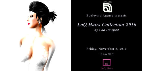 LoQ Hairs Collection Invitation