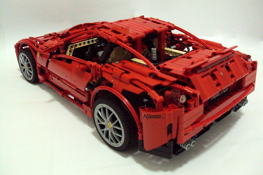 Mods To Lego 8653 Enzo Ferrari Amp 8145 Ferrari Sets Lego