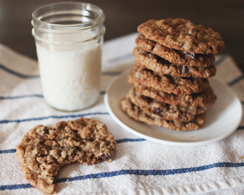 Martha Stewart Oatmeal Chocolate Chip Cookies Wheat Germ