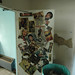 Door of Unit 24 Covered in Rolling Stone Covers from the 1992