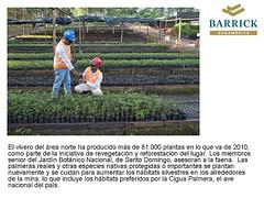 Pueblo Viejo, una nueva era en el oro (BarrickSudamerica) Tags: oro puebloviejo barrick mineraresponsable