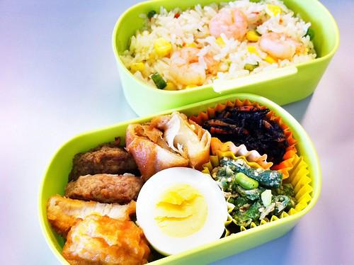 今日のお弁当 No.51 – エビピラフ