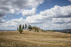 Valle de Orcia (La Toscana) (M. Ángeles Cuenca) Tags: pienza tuscany italy italia toscana house casa arboles tree