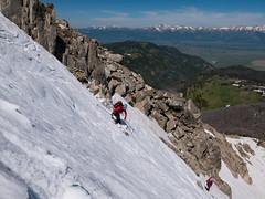 July 4th (nevadoyerupaja) Tags: july4th summer skiing backcountryskiing tetons ski grosventres independenceday 4thofjuly mountain snow jacksonpeak