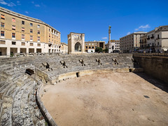 Italy 2017 - Basilicata, Puglia-176 (straight_shooter_socal1) Tags: anfiteatroromano italy lecce puglia