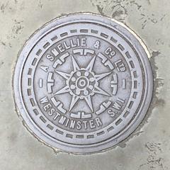 A SMELLIE & CO LTD COALPLATE BELGRAVE ROAD PIMLICO (xxxxheyjoexxxx) Tags: coalplate coal plate iron shute vintage cover opercula plates coalplates lid lettering foundry london pimlico