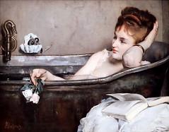 IMG_8951B Alfred Stevens. 1823-1905. Paris. Le bain.The bath.   1867.    Paris Orsay. (jean louis mazieres) Tags: peintres peintures painting musée museum museo france parisorsay alfredstevens