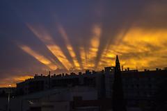 Crepúsculo (Inda Agudo (Ferrari X)) Tags: crepusculo rayos atardecer anochecer nubes