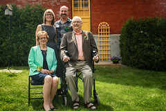 Smiles All Around (flashfix) Tags: june212017 2017inphotos ottawa ontario canada canon canoneos5dmarkii 5dmarkii portrait wedding origami origamibyscott family mom dad granny opa familyportrait 17mm40mm ottawaweddingchapel