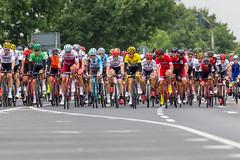 Hauptfeld Tour de France 2017 bei der 2. Etappe von Düsseldorf nach Lüttich
