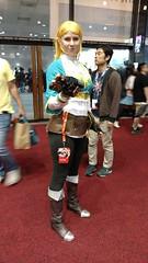Anime Expo 2017- Cosplay (Amsterdoodle Cosplay) Tags: animeexpo 2017 ax cosplay ax17 convention los angeles la legendofzelda zelda breathofthewild botw