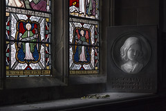 H O N O R A (A N T O N Y M E S) Tags: antonymes interesting church religion worship stainedglass honoraglynne glynnefamily gladstonefamily gladstone sculpture memorial interior historic hawarden village wales northwales explore empty emptybuilding exploration decay decayed old deserted unused dark canon 70d