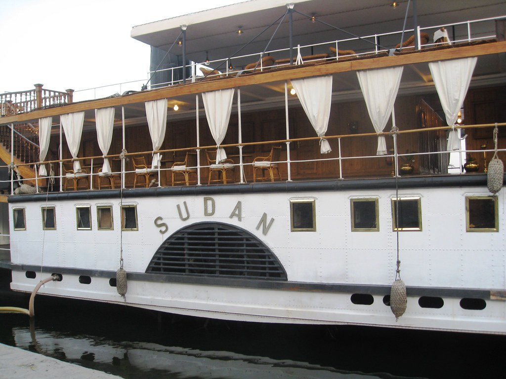 Cruise from Luxor to Aswan on the SS Sudan, last steamship on the Nile