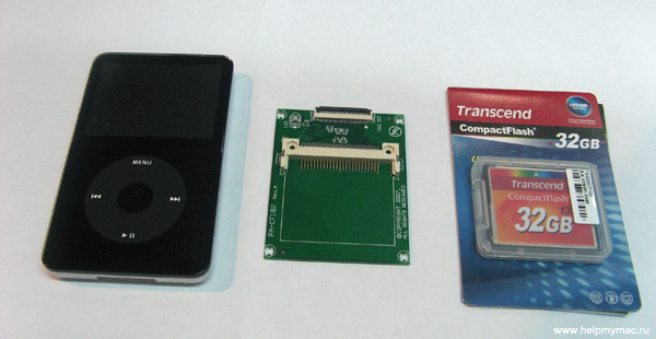 iPod Video Compact Flash