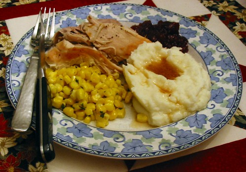 Un-Thanksgiving Turkey & Fixings