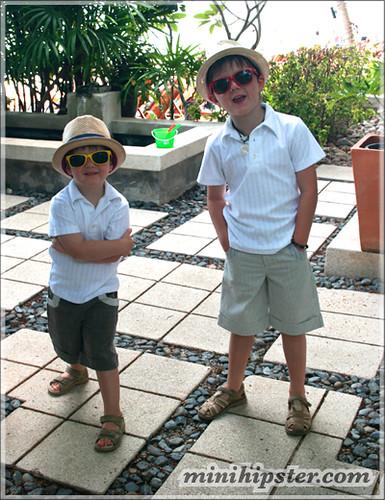 DEXTER & ARCHIE. MiniHipster.com: children's childrens clothing trends, kids street fashion, kidswear lookbook