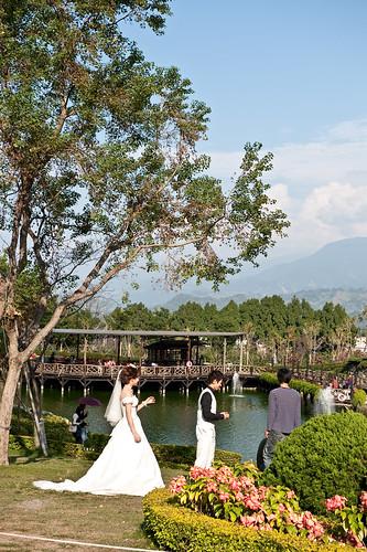 【旅遊攝影】台中清新溫泉與新社古堡