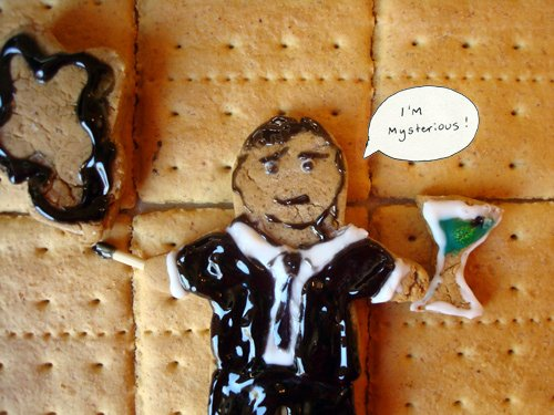Gingerbread Mad Men - Don Draper