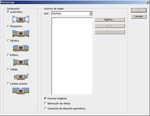 Crear panorámicas fácilmente con la función Photomerge de Photoshop